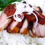 【原田トマトを使った簡単レシピ】阿波お鶏を使ったフルーツトマト丼