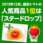 原田トマト人気商品は断トツ!トマトスーツ「スタードロップ」でした。【2013年12月】