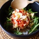 【原田トマトの簡単レシピ.vol1】フルーツトマト「星のしずく」を使ったタコライス