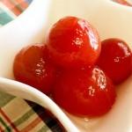 【簡単レシピ】フルーツトマトのはちみつ生姜漬け